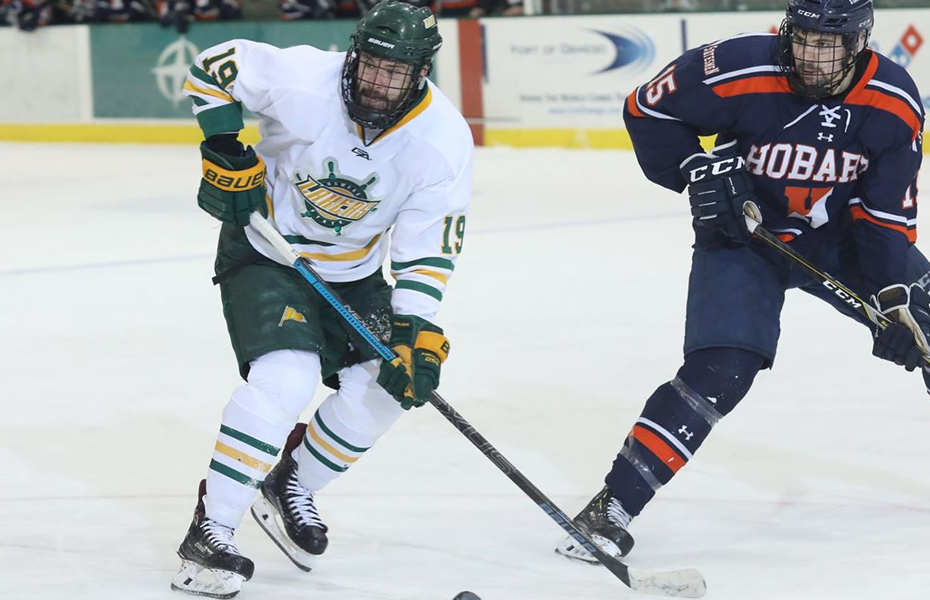 Oswego men's ice hockey bows out of NCAA Championship