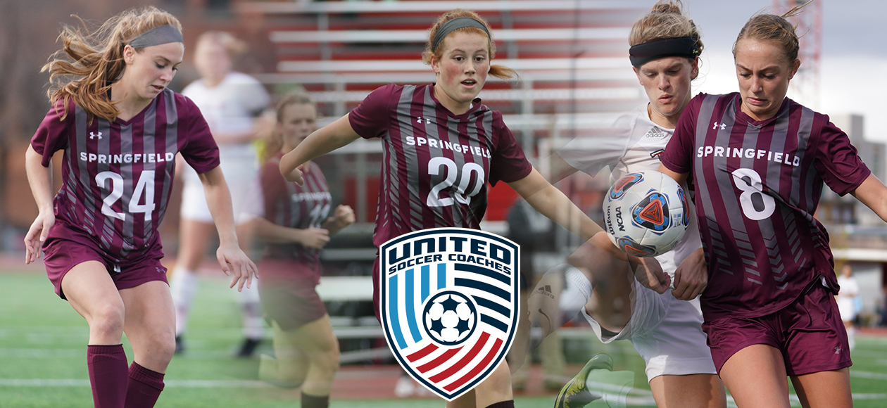 Three Women's Soccer Student-Athletes Earn United Soccer Coaches All-Region Honors