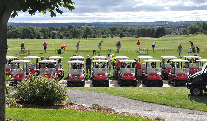 Record Day For This Year's Ferris State Men's Basketball Golf Outing