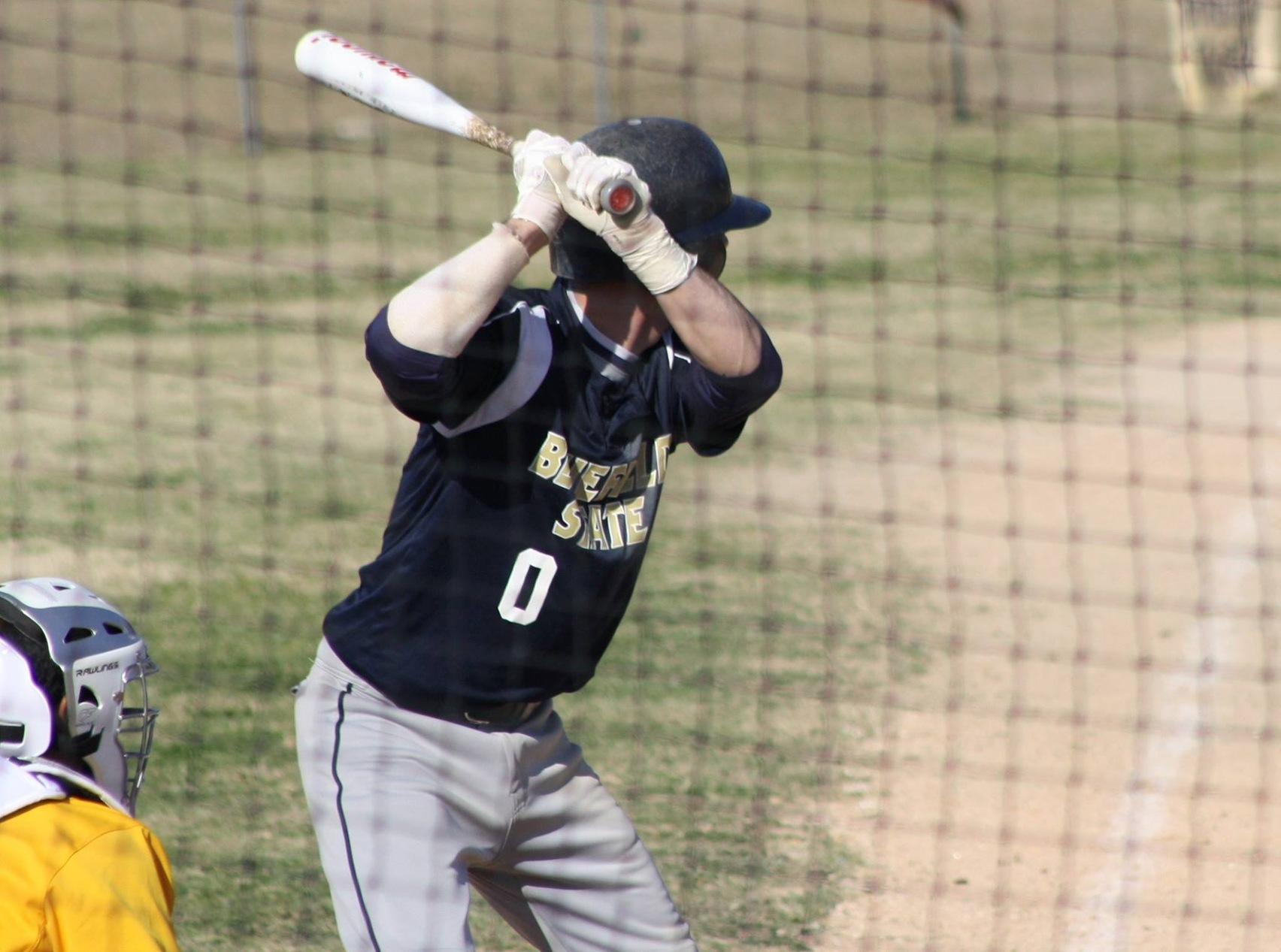 Baseball Struggles Early in Loss to Guilford