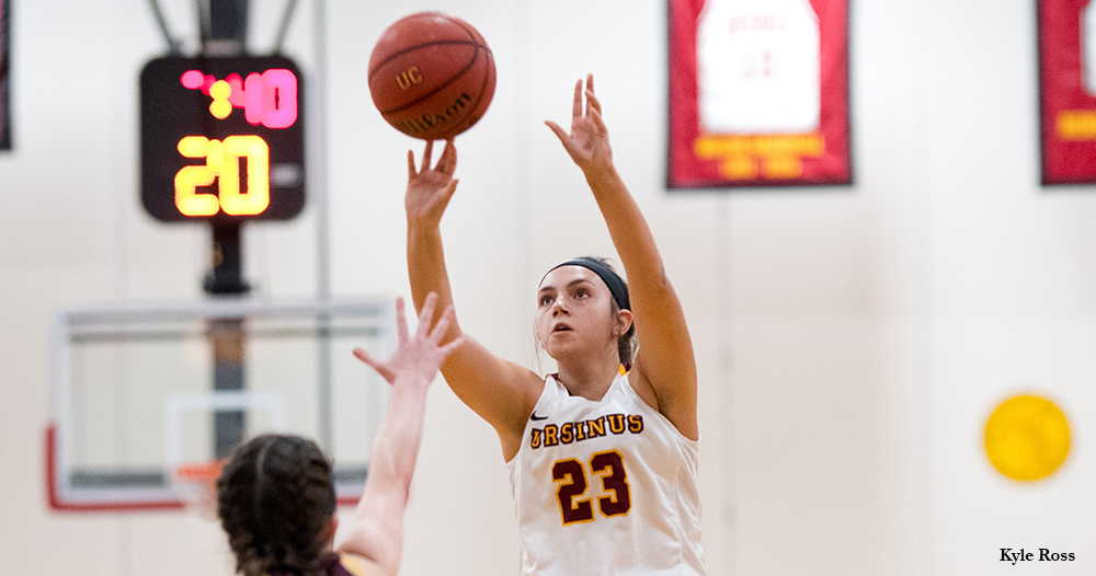 Rookie Goes Wild as Women's Basketball Downs Alvernia in Opener