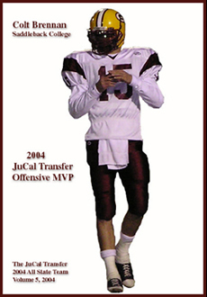 Colt Brennan had the single greatest passing season in Gaucho history in 2004, completing 65% of his passes while throwing for 3,395 yards and 31 touchdowns against only seven interceptions.