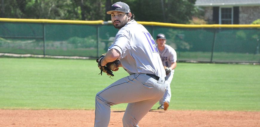 The Eagles dropped the series against Louisiana College. David Beck pitches against the Wildcats.