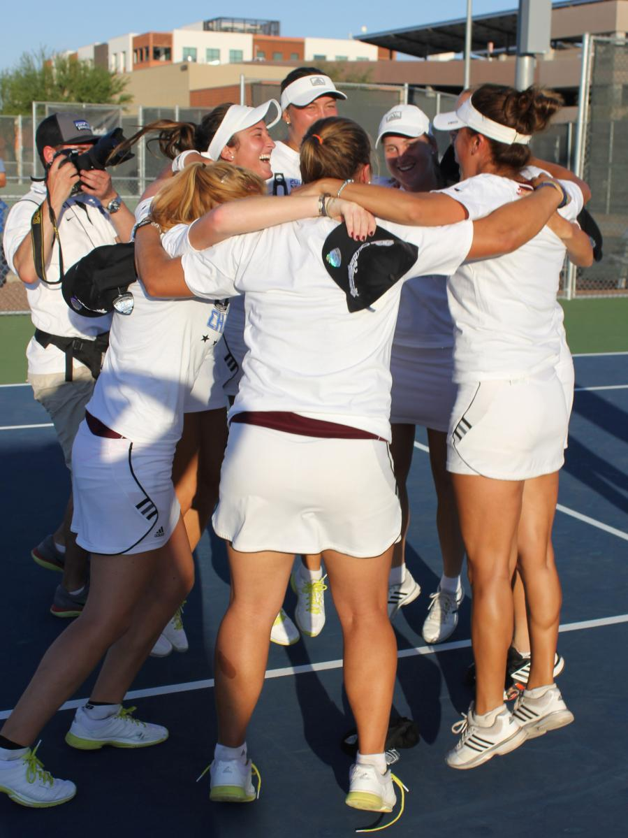 NATIONAL CHAMPIONS ! No. 2 Pirates Beat No. 3 BYU Hawaii For NCAA-Leading 8th DII Women's Tennis Title