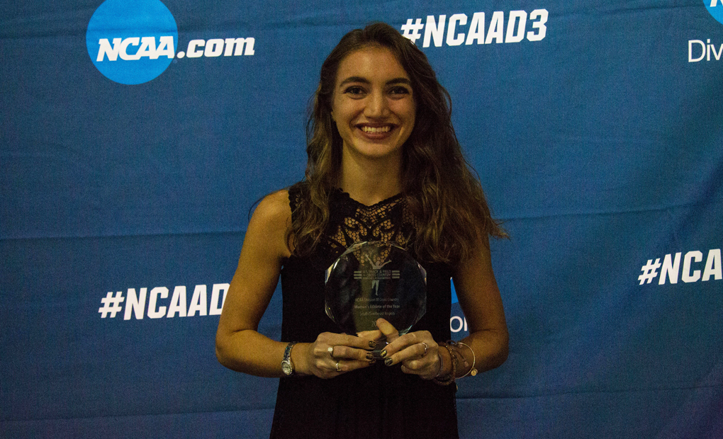 Gabrielle Stravach Earns USTFCCCA Honor