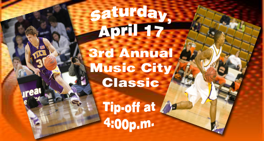 Muhammad and Davis to play in the 3rd Annual Music City All-Star Classic
