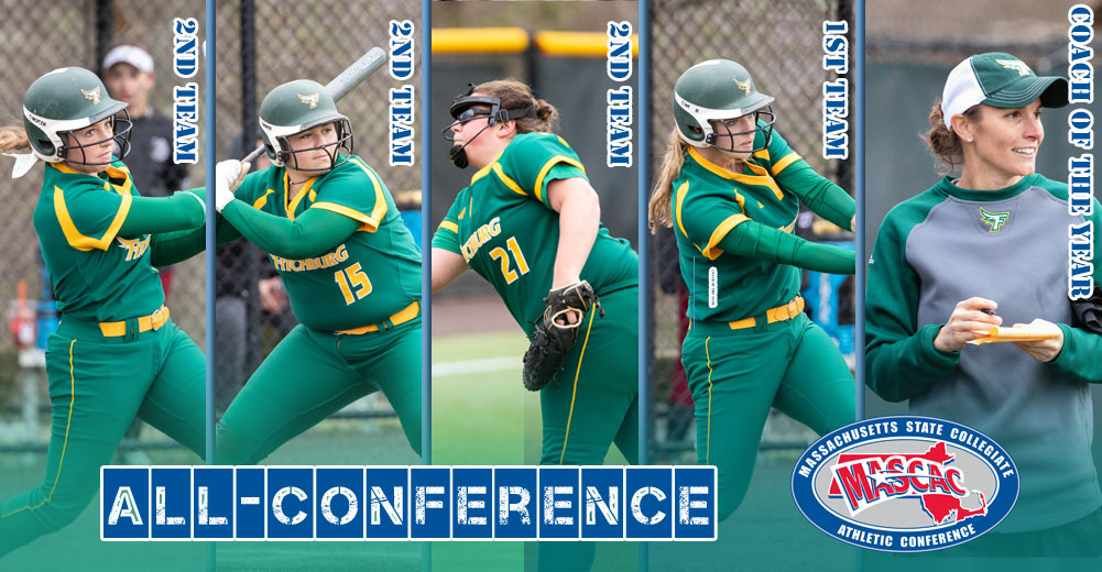Five Falcons Collect MASCAC Softball All-Conference Honors