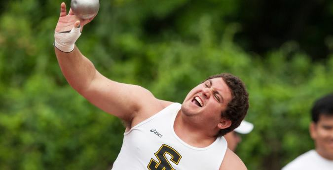 Pirates have impressive first day at Track & Field Championships