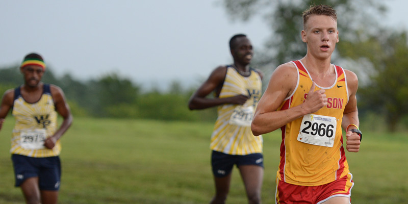 Men's cross country runs well on big stage