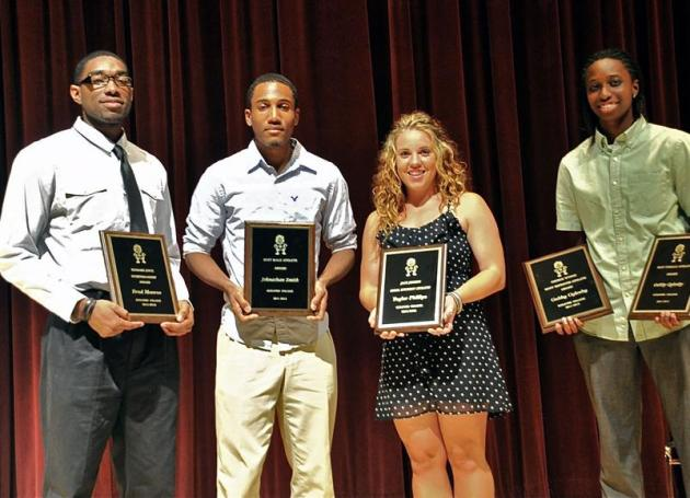 Brad Monroe, Johnathan Smith, Taylor Phillips and Gabby Oglesby