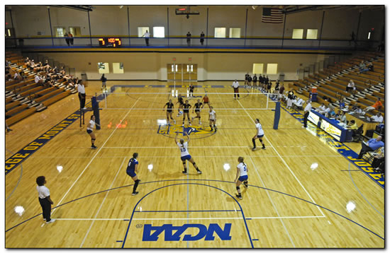 Mount women's volleyball team opens play at the Wittenberg University Fall Classic
