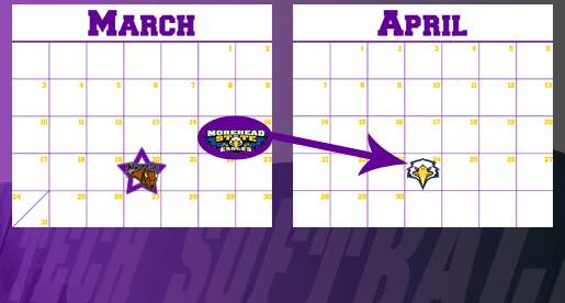 Softball schedule undergoes a pair of updates