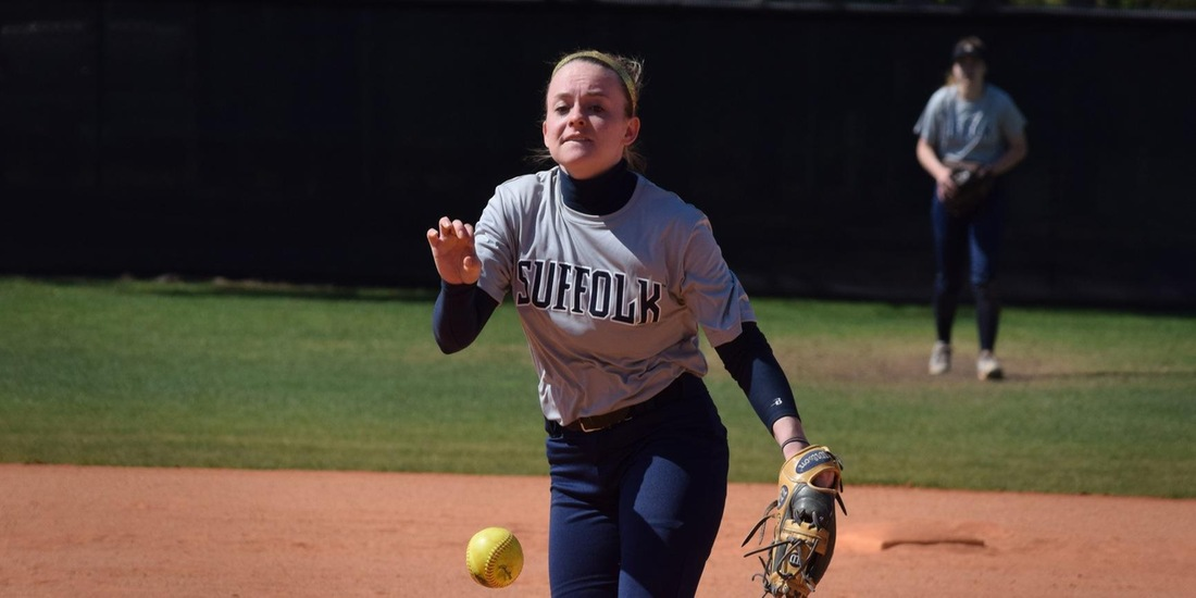 Holmes Deals Complete-Game Shutout, Softball Defeats Norwich, 9-0