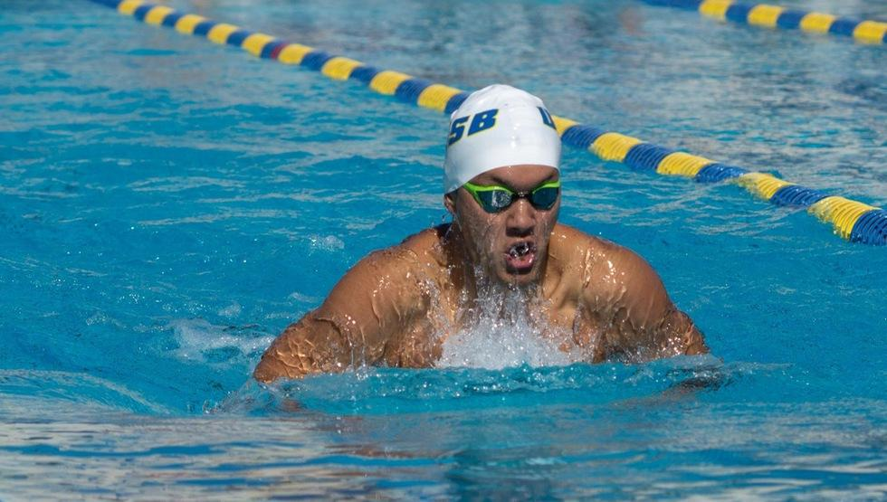 UCSB Swim Finishes Out Their Season Against Rivals Cal Poly
