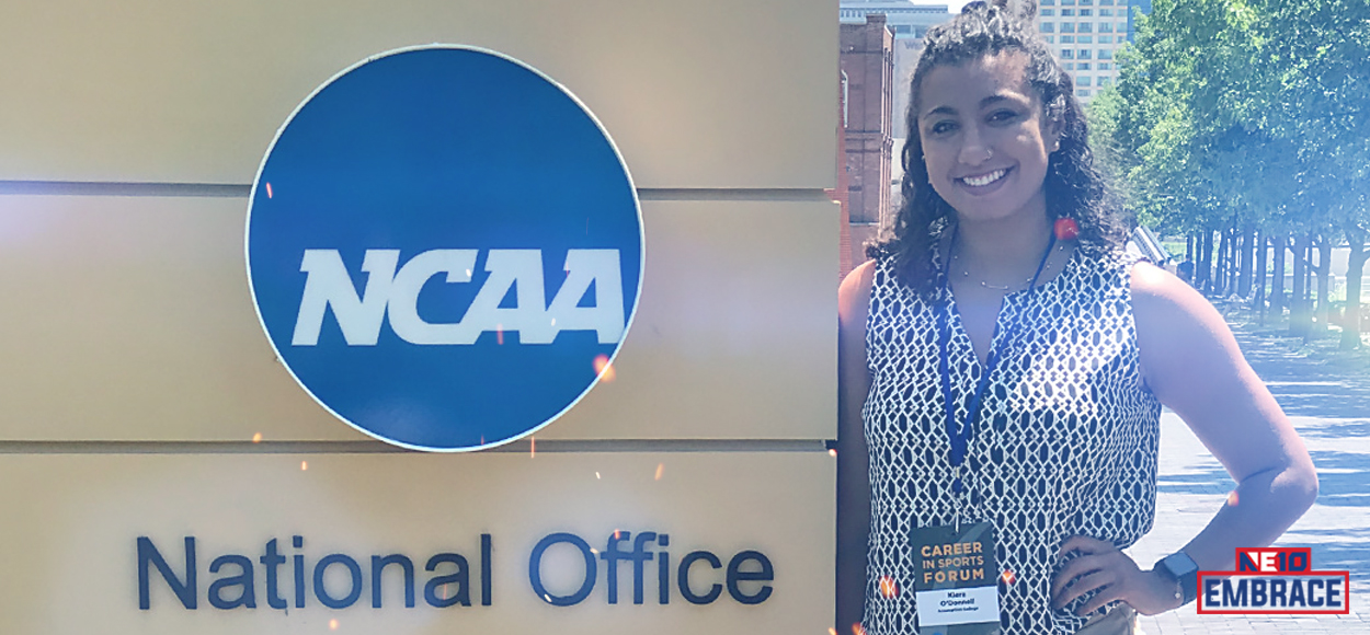 Embrace The Learning: Assumption's Kiera O'Donnell Reflects on NCAA Career in Sports Forum