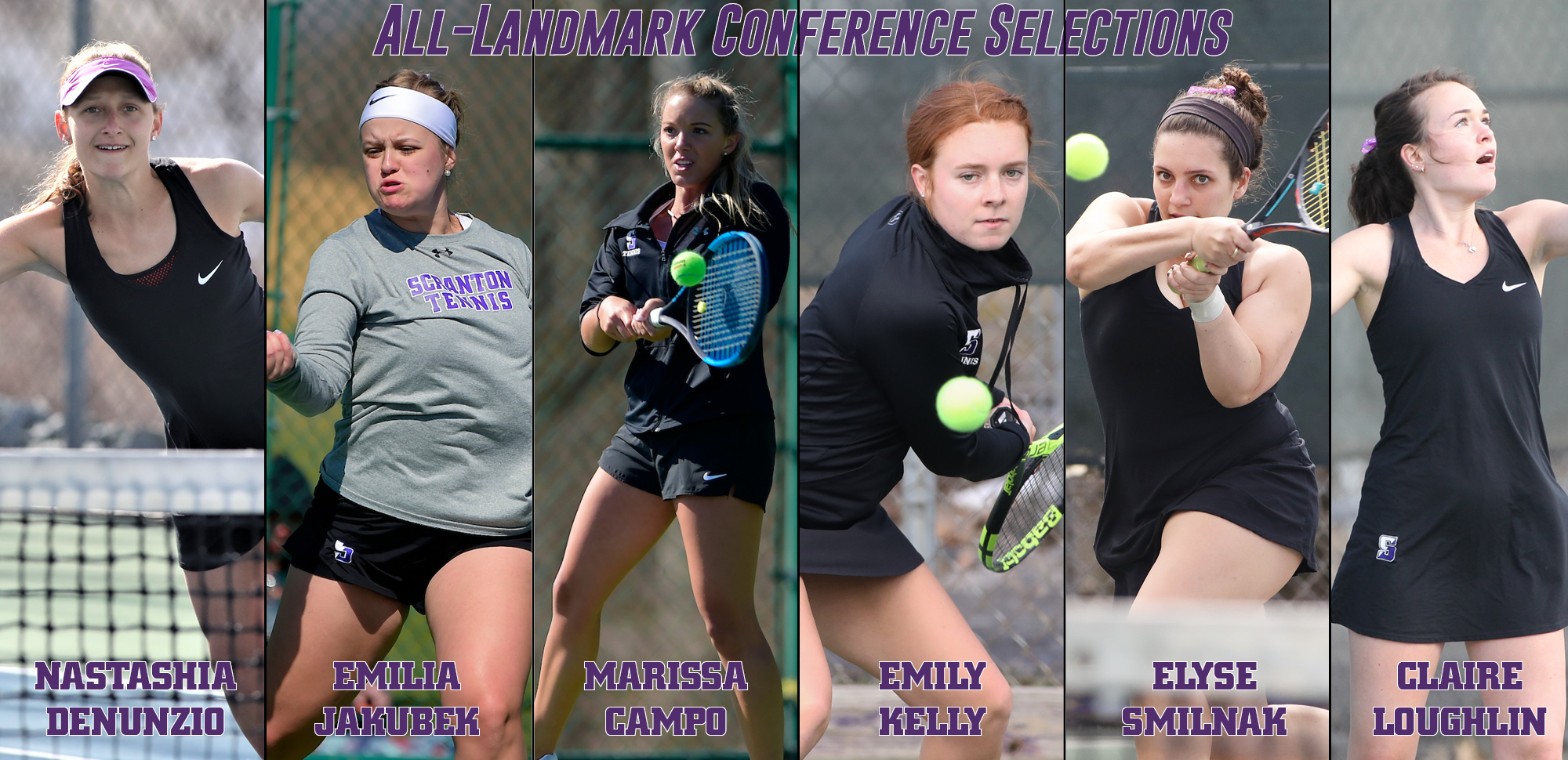 DeNunzio Named Player of the Year to Headline All-Landmark Conference Women's Tennis Selections