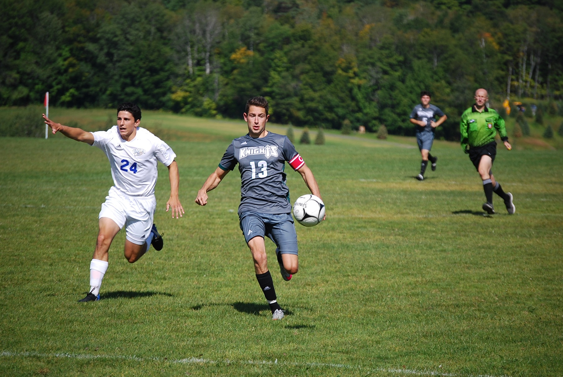 Men's Soccer finishes with a solid win over UMPI in their home opener