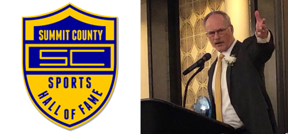 Football Assistant Coach Meyer Inducted to Summit County Sports Hall of Fame