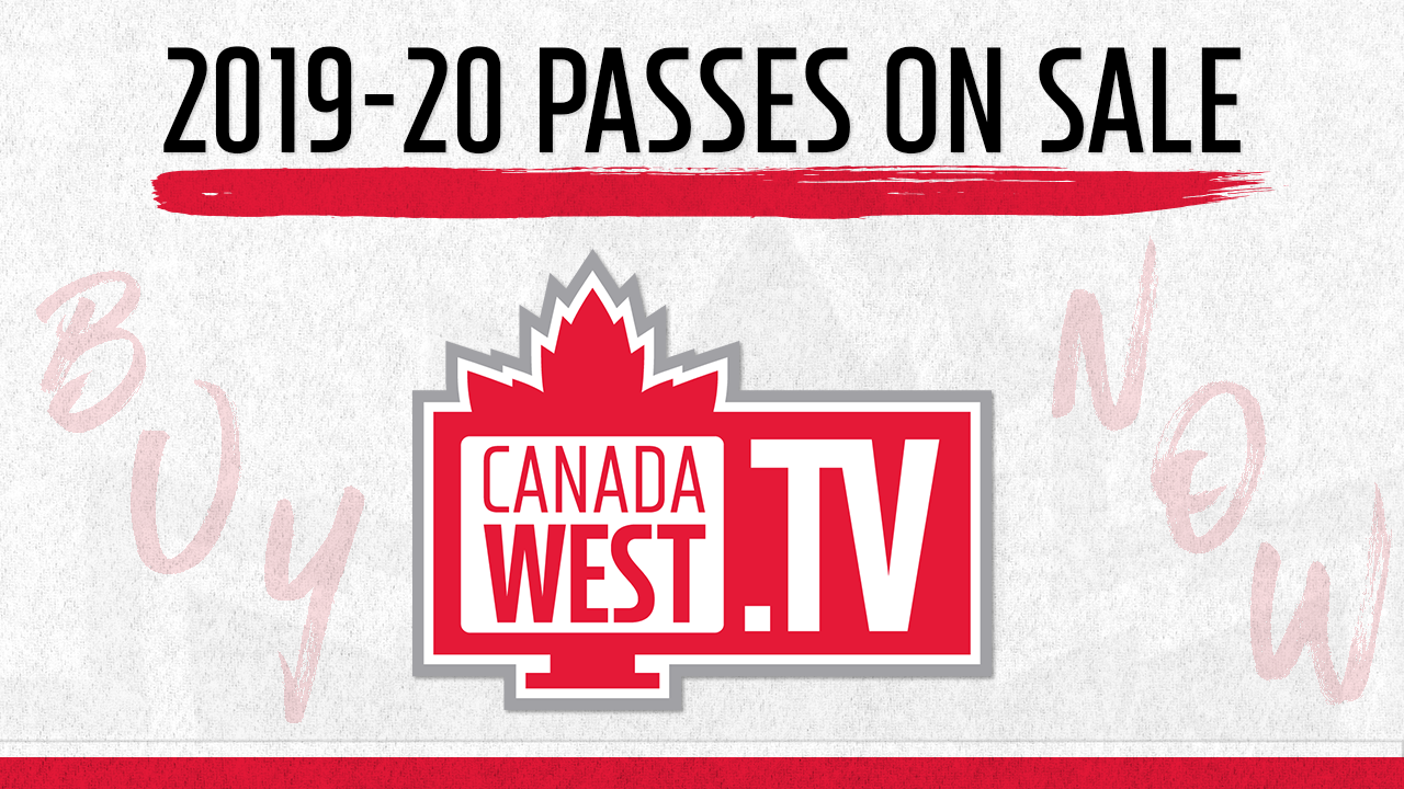 2019-20 Canada West TV passes on sale
