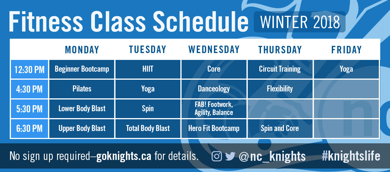 Click Here for our Fitness Class Schedule