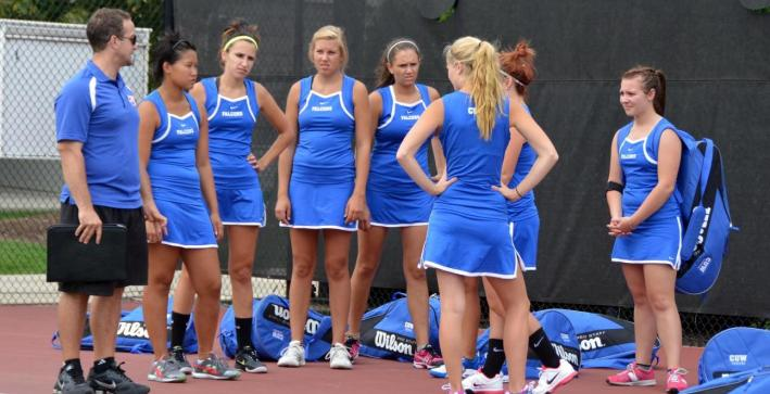Women's Tennis hosts Aurora in first round of NAC Tournament