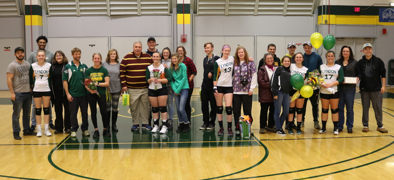 Hornet volleyball falls to Green Mountain in four sets on Senior Night