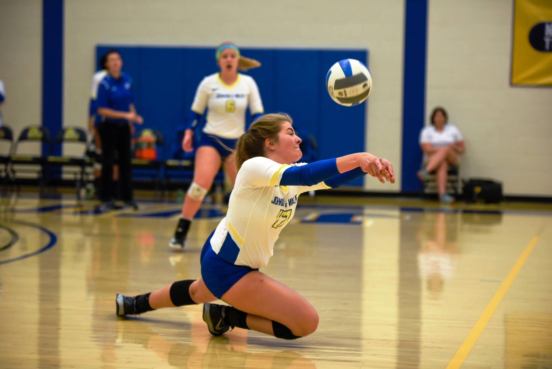Volleyball Falls to Bob Jones on Senior Day