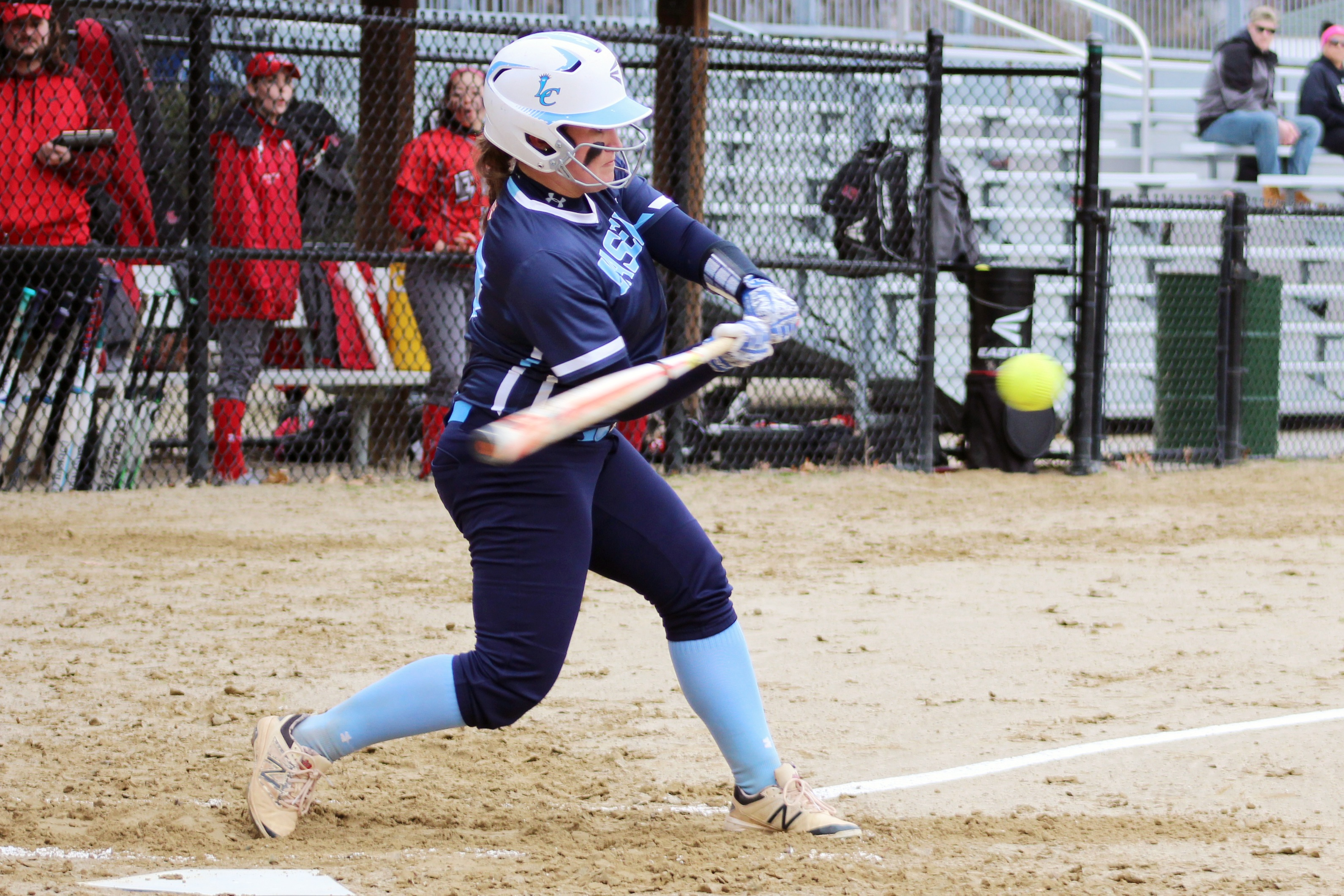 Lasell Softball defeated by Albertus Magnus in GNAC Tournament