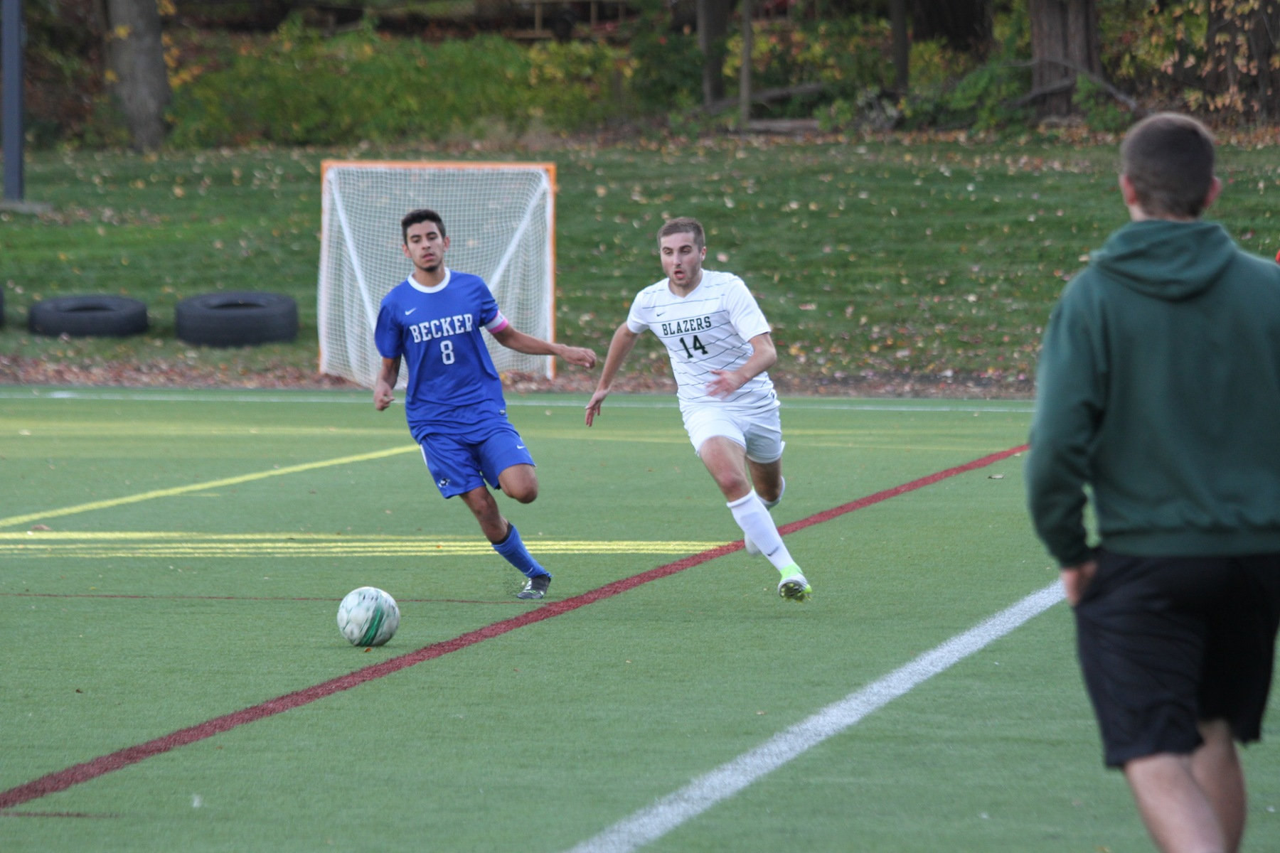 Elms Advances To NECC Semifinals With 3-0 Win Over Becker