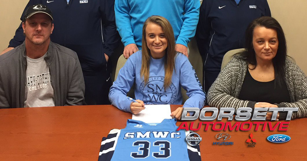 Delaney Kendall Signs with #PomeroyWBB