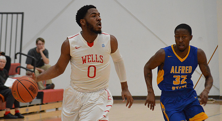 Hot-Shooting Alfred State Defeats Wells Men's Basketball