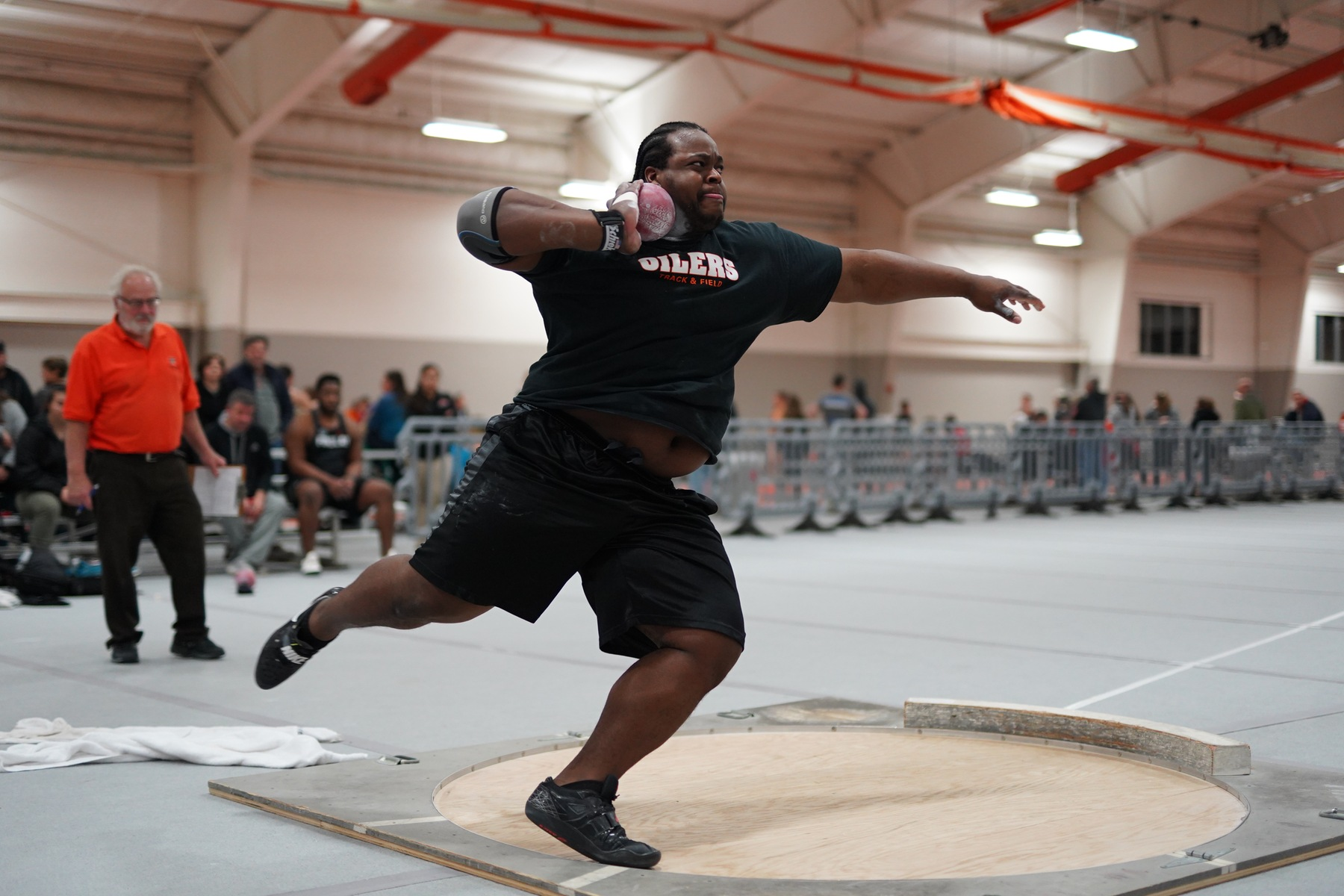 Henry Named National Champion in Men's Shot Put