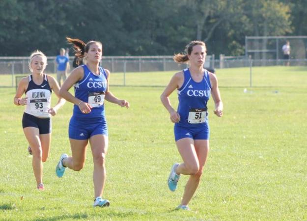 Women's XC 9th at MU Invitational