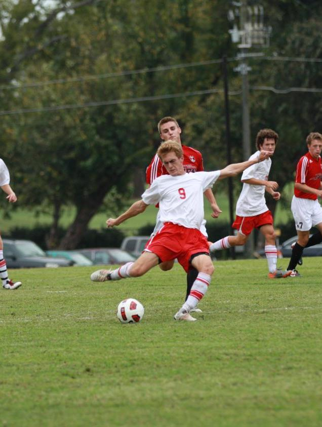 Huntingdon men's soccer picks up first GSAC win