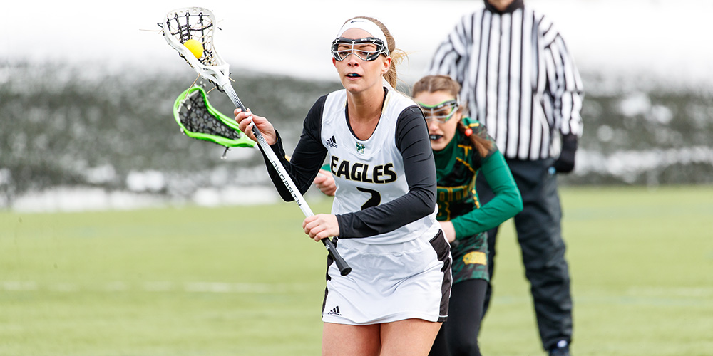 Deshaies Sets All-Time Goals Mark, Women's Lacrosse Drops Game at NEC, 23-17