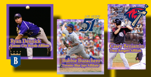 Three former Golden Eagles have impressive minor league baseball seasons in 2009