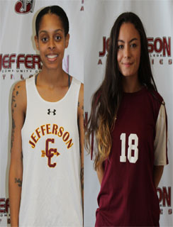 Jasmine Harris and Mazzy Watson Jefferson Co-Athletes of the Week