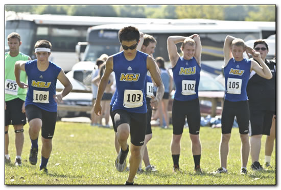 Lions Cross Country finishes season at the NCAA Regional