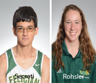 Felician Takes Both CACC Cross-Country Rookie-of-the-Week Awards