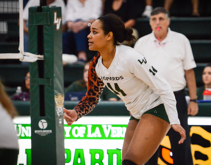 Sales has a day, No. 21 Volleyball takes down No. 6 CLU