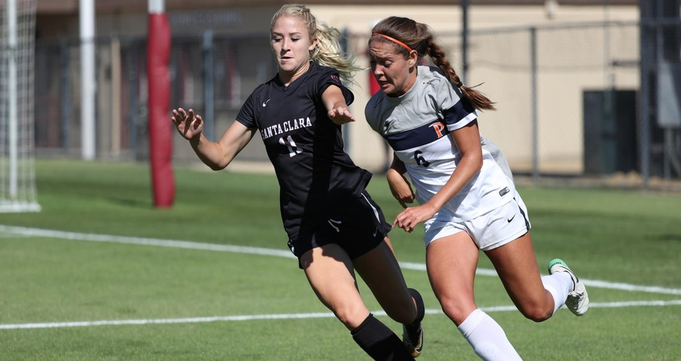 Women's Soccer Drops WCC Match to Pepperdine Sunday