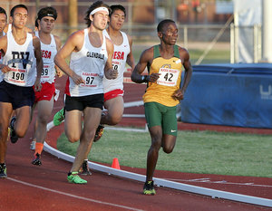 Harry Mulenga NCAA Division 1 National athlete of the week