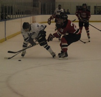 Falcon men fade in third period ; lose 6-3