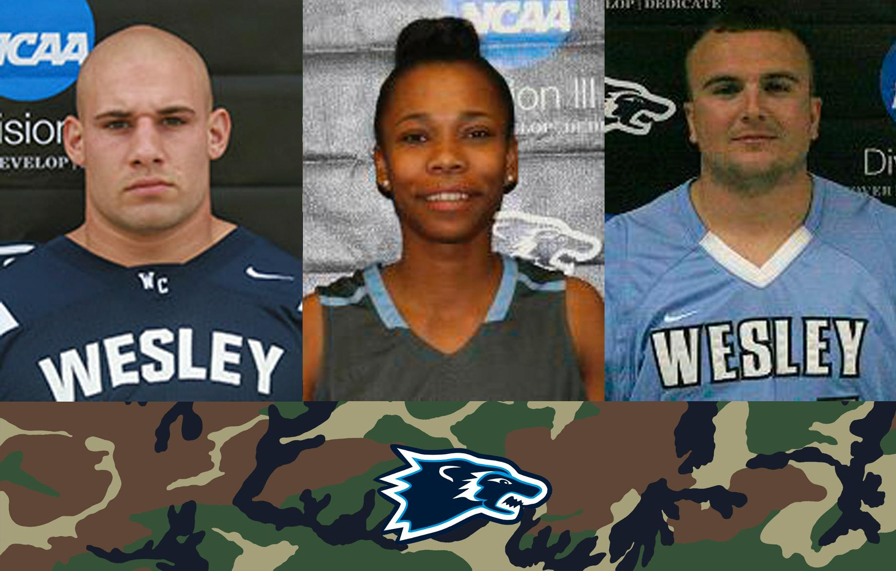D3 Week: Military Experiences Motivate Wesley Student-Athletes