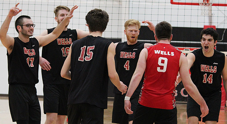 Men's Volleyball Picked Third in NEAC Preseason Poll