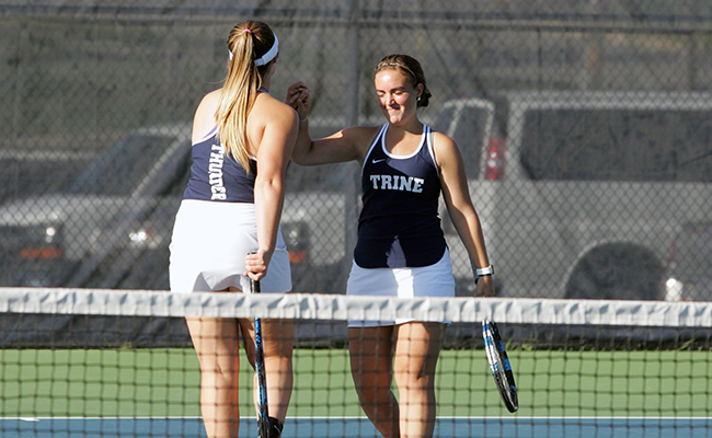 Visiting Bethel Defeats Women's Tennis