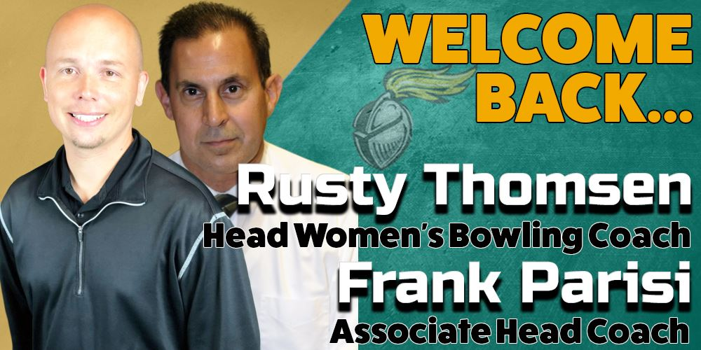 RUSTY THOMSEN, FRANK PARISI RETURN TO LEAD NJCU BOWLING PROGRAM