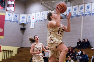 Lady Mounties Trounce Visiting Chargers