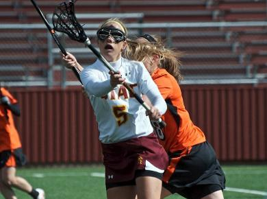 Lady Spartans Drop Road Game, 16-5