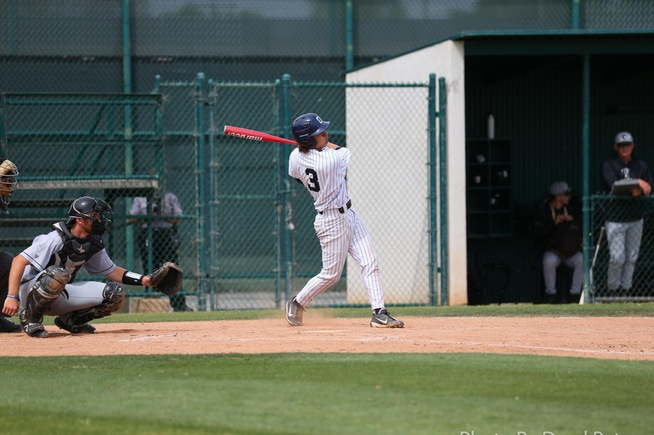 File Photo: Alex Bueno collected three hits in the Falcons loss